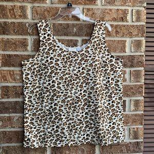 Chicos leopard print women's top